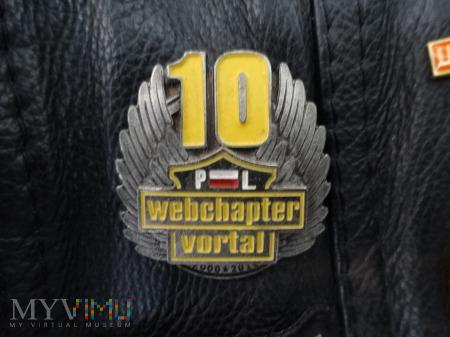 Odznaka na 10 lecie WebChaptera