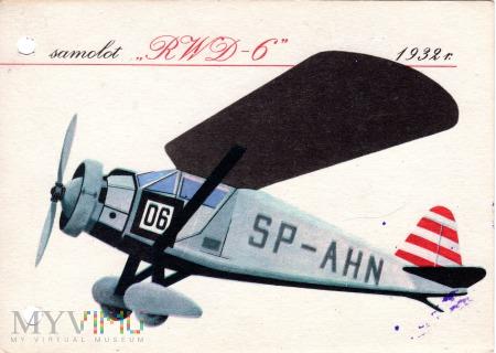 samolot RWD - 6 1932 r.