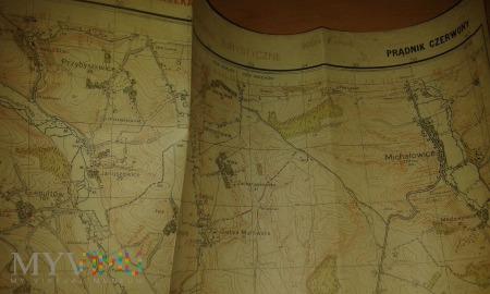 Prądnik Czerwony mapa 1936