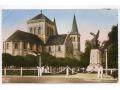 Barentin - kościół i pomnik - lata 50-te