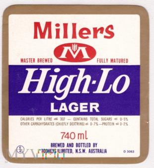 Tooheys, Millers