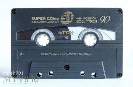 Duże zdjęcie TDK SA 90 kaseta magnetofonowa