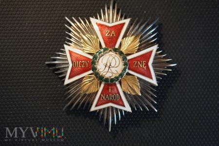 Gwiazda Orderu Orła Białego - kopia grawerska