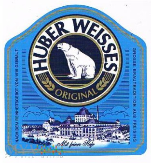 huber weisses original
