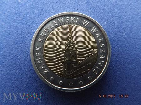 Duże zdjęcie Polska 5 złotych, 2014 - Zamek Królewski Warszawa