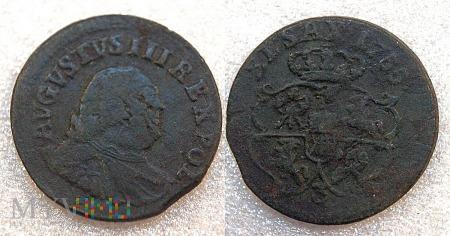 1755, grosz koronny