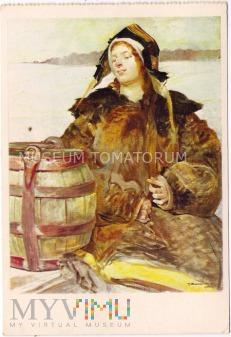 Malczewski - Kobieta w futrze