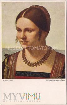 Durer - Portret młodej kobiety
