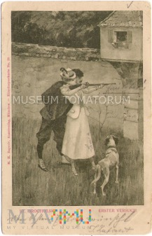 Para - Nauka strzelania - 1901