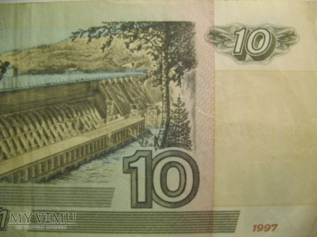 10 RUBLI - ZSRR (1997)