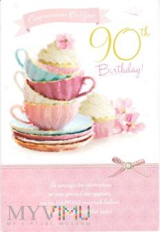 Duże zdjęcie Congratulations On Your 90th Birthday!