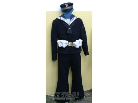 Mundur marynarza służby zasadniczej