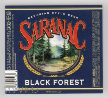 Saranac, Black Forest
