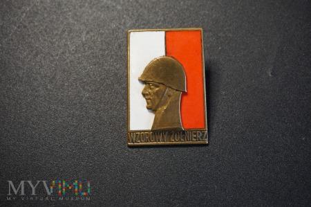 Wzorowy Żołnierz II Klasy - wzór z 1958 r. ,,Zbój'