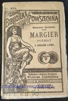 Duże zdjęcie Margier - Poemat z dziejów Litwy