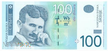 Serbia - 100 dinarów (2013)