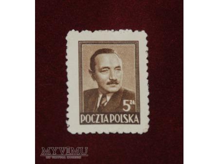 Bolesław Bierut. 5 złotych.