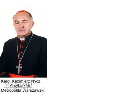 List od Kardynała Kazimierza Nycza