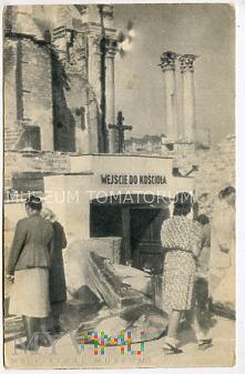 W-wa - Kościół św. Aleksandra - 1948