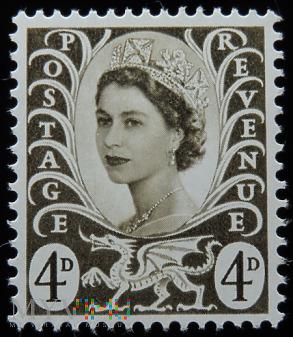 Walia 4d Elżbieta II