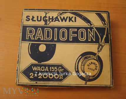 Słuchawki Radiofon