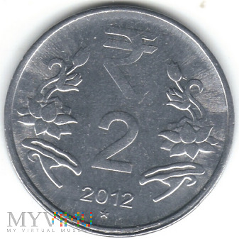 2 RUPEES 2012 ★