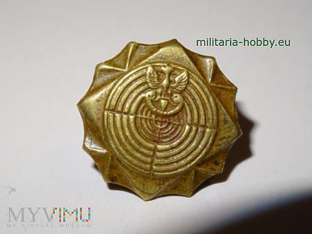 Odznaka strzelecka brązowa miniaturowa