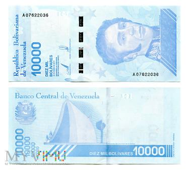 10 000 Bolívares Soberano 2019 (A 07622036)