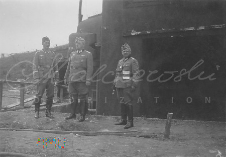 Duże zdjęcie Inspekcja na Lini Maginota - 1940
