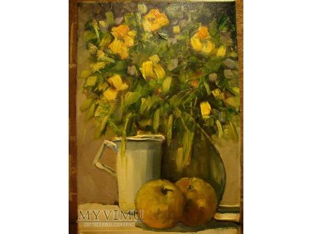 Martwa natura z jabłkami - Cezary Garbowicz