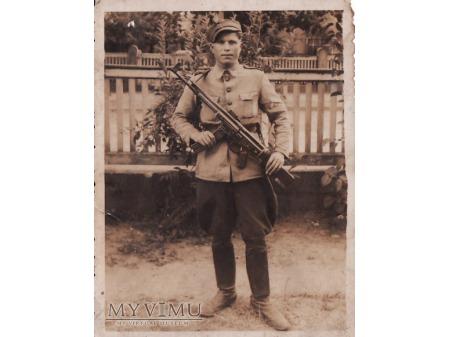 Duże zdjęcie Żołnierz LWP.