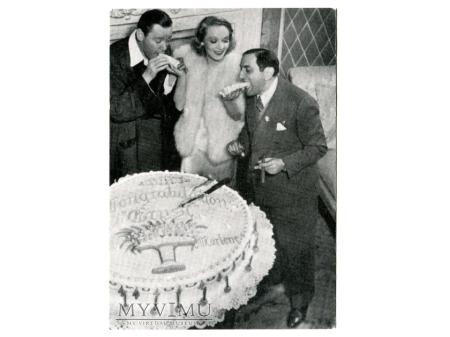 Duże zdjęcie Marlene Dietrich ERNST Lubitsch ulotka reklamowa