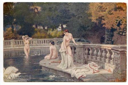W. Miencler - W kąpieli