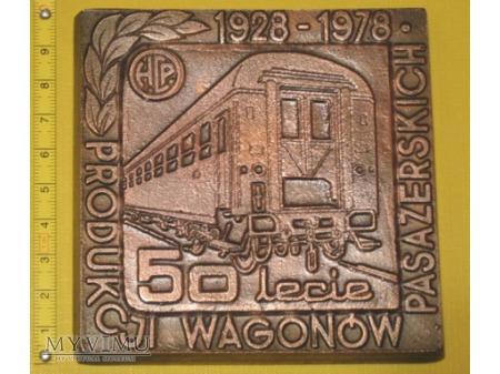 Medal kolejowy - firmowy HCP Poznań