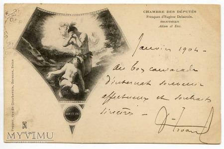 Eugene Delacroix - Utracony raj