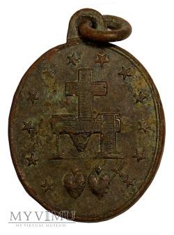 Medalik miedziany 1830