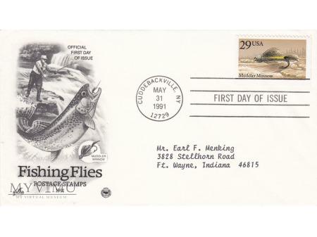 Duże zdjęcie USA 1991 - FDC Artcraft cz.2