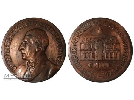 Eduardo Frei Montalva Chile medal brązowy 1970