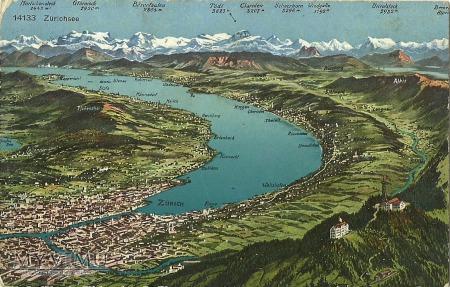 Szwajcaria - Zurich - Zurichsee - Dąbrowa Górnicza