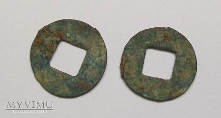Chiny- Dynastia Han Wu Zhu (II w.n.e.) -inflacyjna