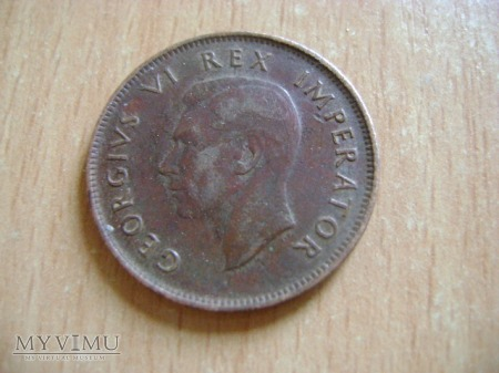 moneta angielska kolonialna 1942