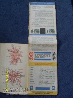 """Samochodowa mapa Polski-1979r."""""""
