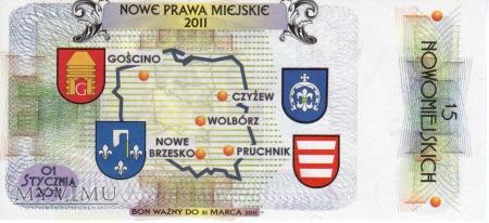 Bon Miejski : 15 Nowomiejskich - Pruchnik