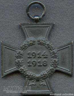 Krzyż Hindenburga (wersja dla wdów i sierot)