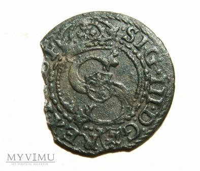 Szeląg mennica Malbork- 1601 r
