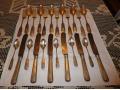 Herb Dołęga-sztućce obiadowe na 6 osób