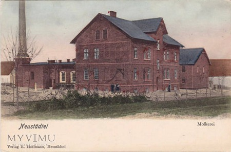 Mleczarnia - 1910 r.