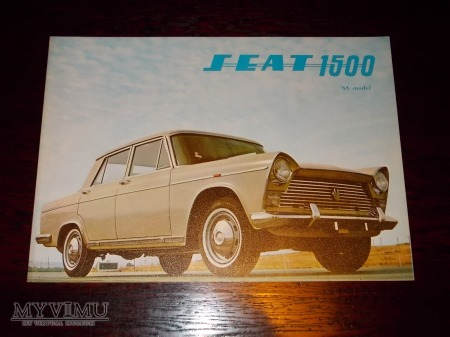 Prospekt SEAT 1500