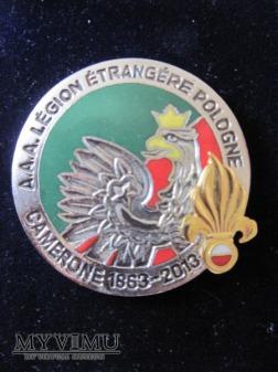 Odznaka Amicale Pologne Camerone 2013