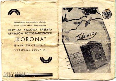 Korona camera Polski aparat foto.